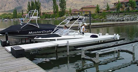 used hydraulic boat lift madison s free estimates on new piers boatlifts boat