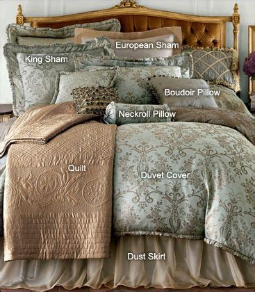 Define Bedding how to make the bed from horchow decorating
