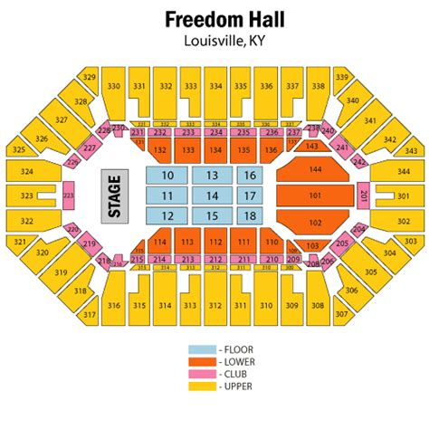 freedom seating maroon 5 august 28 tickets louisville freedom ky