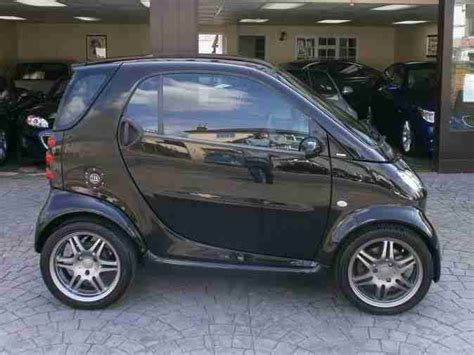 smart car back smart 2006 fortwo brabus 74 auto black car for sale