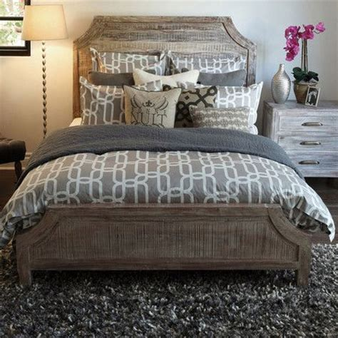 rustic country chic acacia bed bedrooms pinterest