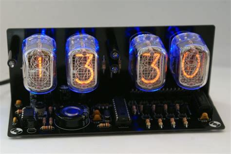 nixie tube clock kit    led alarm dthursday dprinting adafruit industries makers