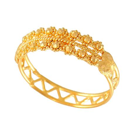 Gold Ring Design by She Fashion Club Gold Jewellery Ring Designs