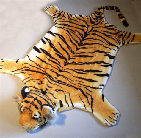 tiger teppich webpelz vorleger tiger teppich tigerteppich 170x90 cm ebay