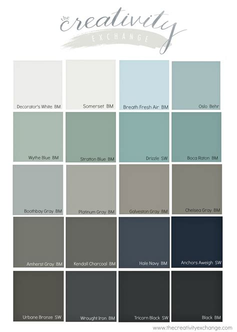 Interesting 10 Trending Interior Colors Best Grey Paint Colors 2017 Popular Front Door Paint Colors