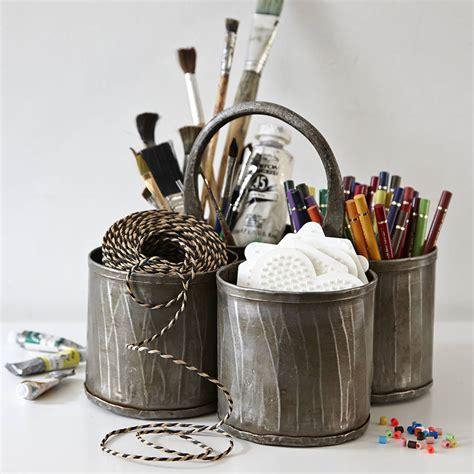 desk pot steel thali pen pot and desk tidy by lovestruck
