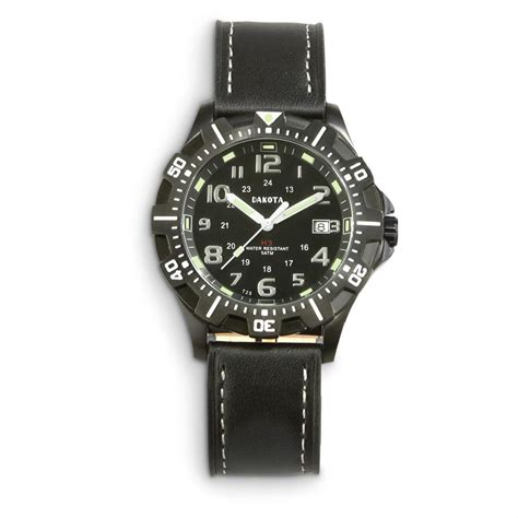 dakota tritium leather 625297 watches at
