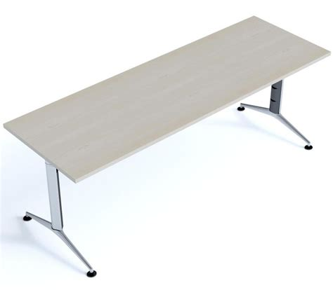 Shallow Desk | shallow designer rectangular desks travido office reality
