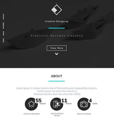 Free Dark Modern Landing Page Psd Template Free Web Graphic Design Resources Pinterest Psd Graphic Design Resources Templates