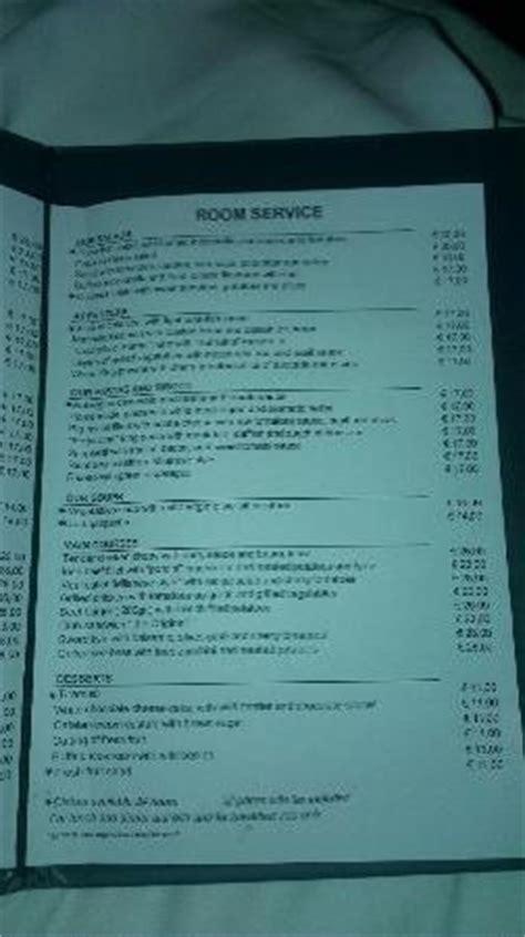 marriott room service menu room service menu picture of ac hotel by marriott milan tripadvisor
