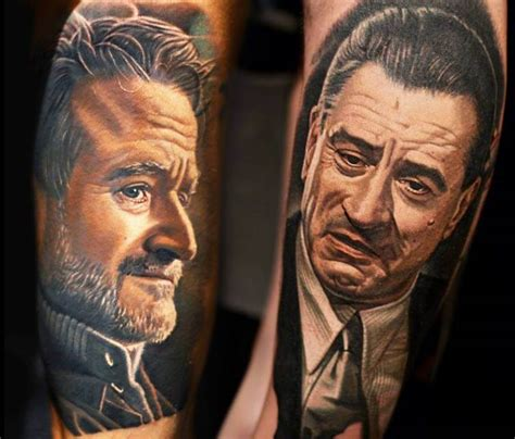 robin williams tattoo robin williams and robert de niro by nikko hurtado no 164