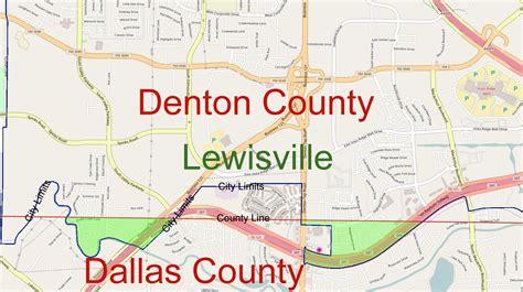 dallas county map dallas county line map my