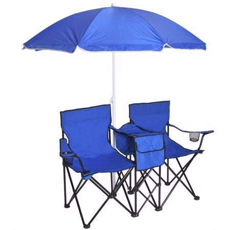 chair with umbrella attached walmart tms portable chairs w umbrella folding table