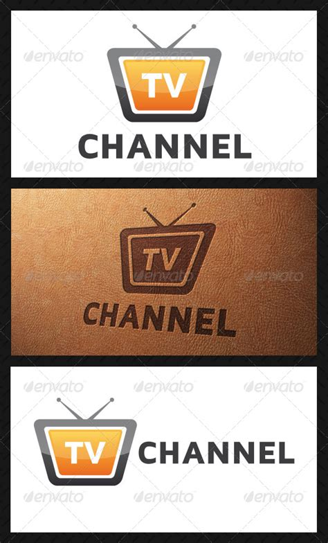 channel logo template tv channel logo template graphicriver