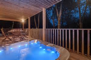 Log Cabin With Indoor Tub by Willow Lodge South View Lodges