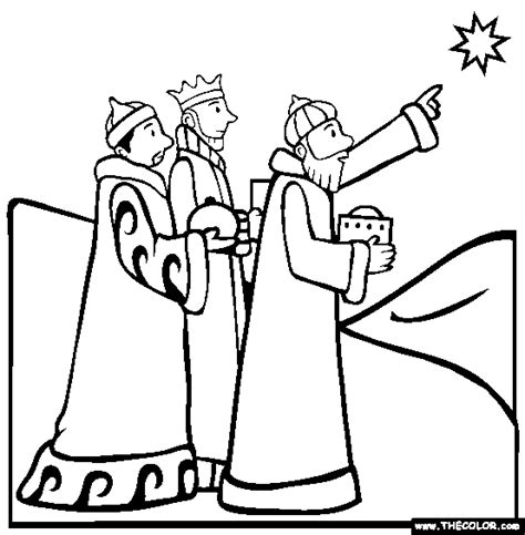 another wise men coloring page 3 kings day pinterest