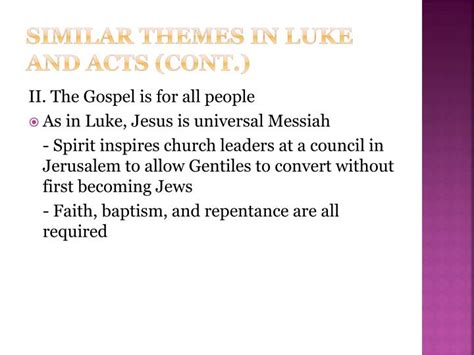 themes in the book of acts ppt acts of the apostles powerpoint presentation id