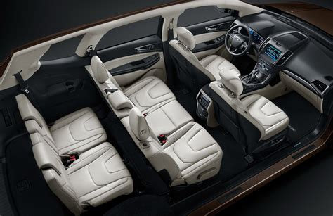 ford edge seating 3rd row ford edge gets longer 7 seat version for china at