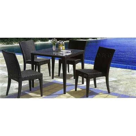 bfg furniture patio dining set free delivery brand new for