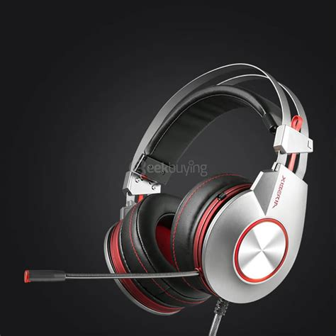 Resong Q12 Bass Wired Headset Grey xiberia k5u stereo bass usb7 1 led gaming headsets with