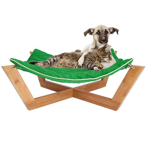 Pet Hammock Jumbl Bamboo Cat Hammock Slash Pets