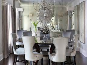 mirrored dining room set round mirrored dining room table 187 dining room decor ideas