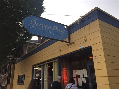 Screen Door Portland Menu by Screen Door Portland Menu Prices Restaurant Reviews