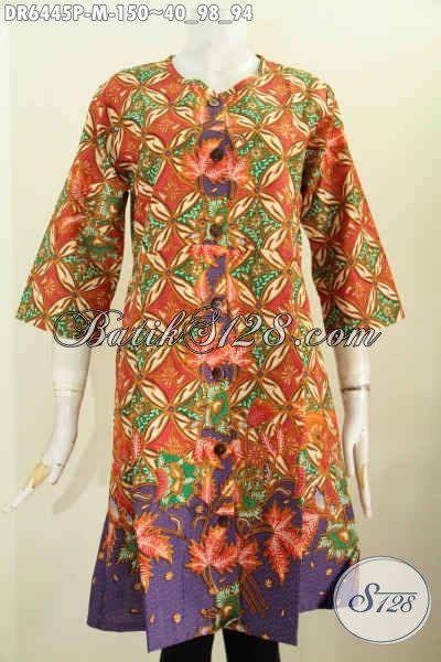 Dress Wanita Bagus dress batik motif bagus wanita til anggun mempesona