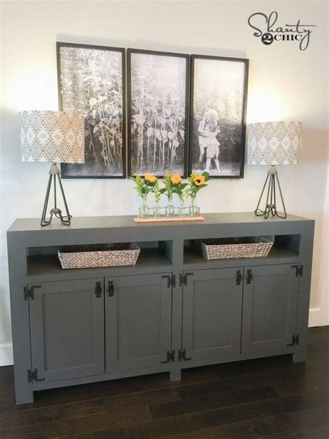 farmhouse tv console table 6609 best images about diy self sufficiency on