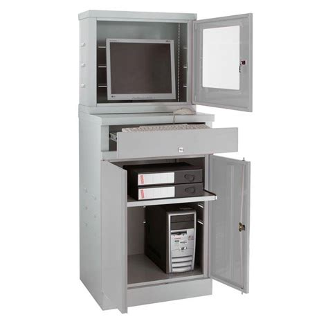 armoire workstation enclosed compact computer workstation for flatsceens aj