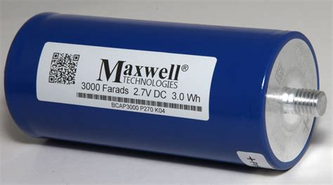 capacitor polarity damage maxwell technologies ultra capacitor 3000 farads 2 7v dc 3 0wh bcap3000 p270 k04 ebay