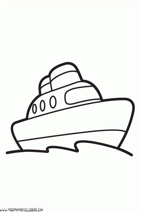barco para dibujar dibujo de barcos para colorear 001