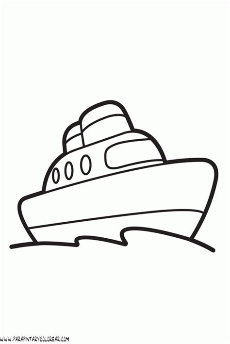 dibujos infantiles para colorear de barcos dibujo de barcos para colorear 001