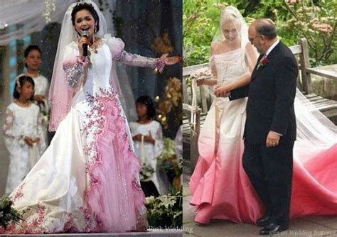 Dress Siti the ultimate pink wedding dress entry princess gown