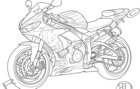 yamaha motorcycle coloring pages yamaha pages coloring pages