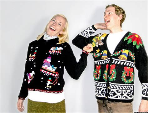 how to wear sweater to christmas party sweater caign raises awareness funds for stand up to cancer huffpost