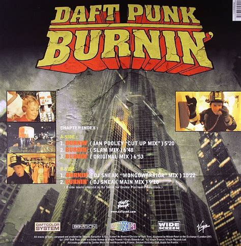 daft punk burnin daft punk burnin vinyl at juno records