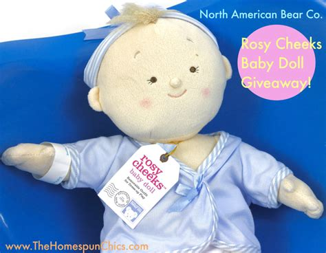 Baby Giveaways 2016 - rosy cheeks baby doll giveaway the homespun chics