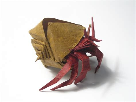 How To Make An Origami Crab - hermit crabs 2007