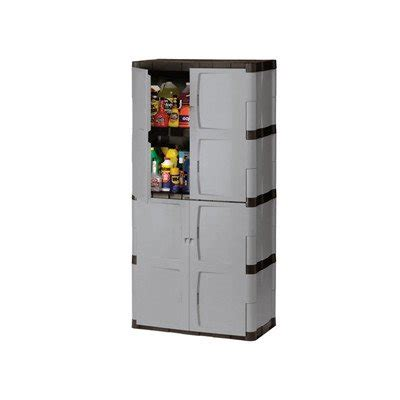 Rubbermaid Plastic Storage Cabinet Rubbermaid Plastic Storage Cabinet 36x18x72 Quot Gray Rubbermaid Rubbermaid 7083