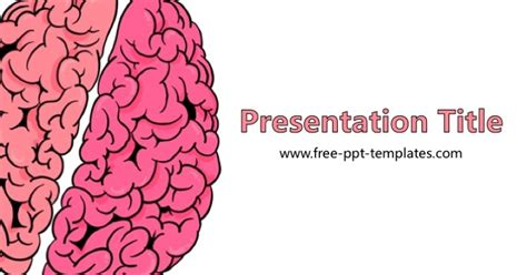 Free Powerpoint Templates Free Brain Powerpoint Template