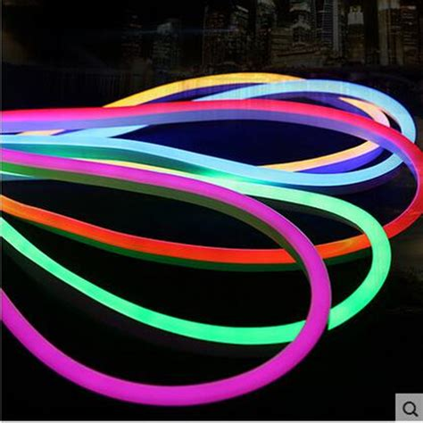 Lu Led Neon Rgb With Remote 15m Standard Rgb Neon Flex 72pcs 5050smd M Color Changing Led Neon With Remote Controler