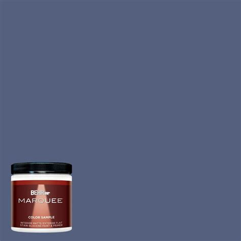 behr marquee 8 oz mq5 58 velvet rope interior exterior paint sle mq30316 the home depot