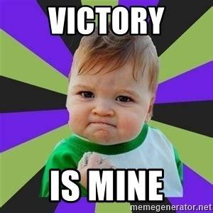 Victory Meme - victory baby meme meme generator