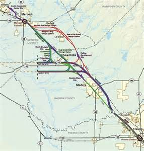 california plans merced to fresno high speed rail route