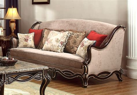 gold chenille sofa belvedere chenille antique style sofa loveseat set in