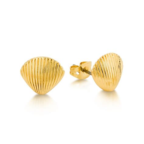 disney couture gold plated mermaid ariel clam shell