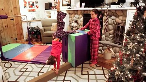best gymnastics christmas gifts tumbl trak presents give the gift of gymnastics starter home