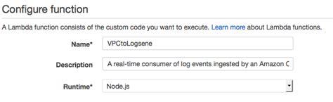 repository pattern lambda logsene aws lambda cloudwatch readme md at master