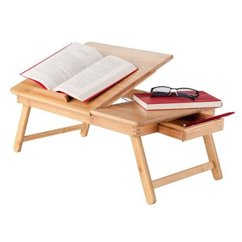Laptop Table Desk Stand Notebook Tray Lap Folding Bed Laptop Bed Desk Tray